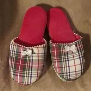 Shoes - Victoria Secret Plaid Slippers